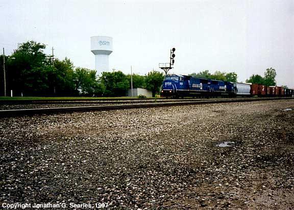 Conrail Manifest, Berea, OH, USA, 1997