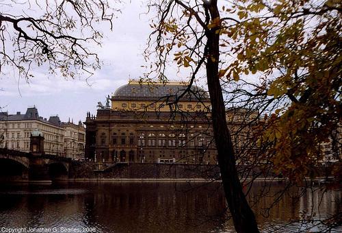 Narodni Divadlo Seen From Zofin, Prague, CZ, 2006