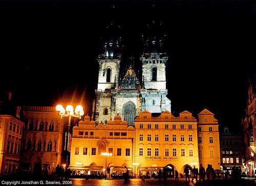 Tyn At Night, Prague, CZ, 2006
