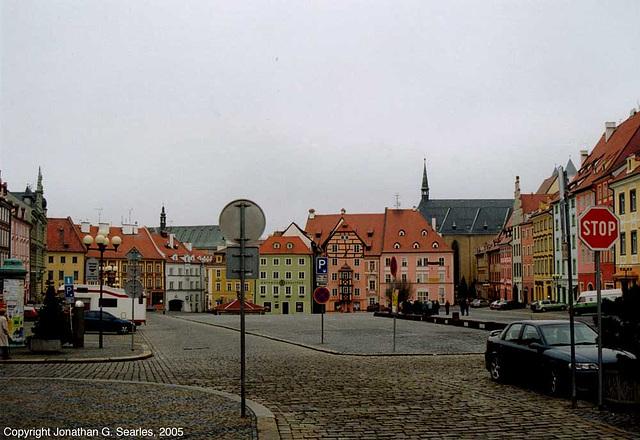 Náměstí Jiřího z Poděbrad, Cheb, West Bohemia(CZ), 2005