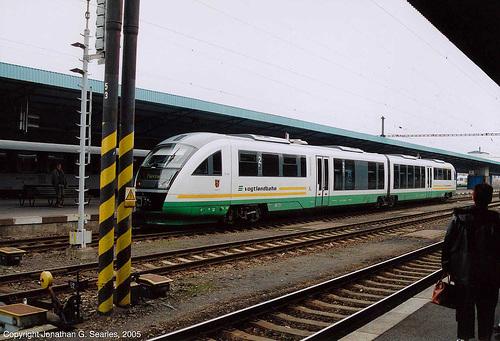 Vogtlandbahn Train, Cheb, West Bohemia(CZ), 2005