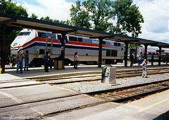 Amtrak #700, Albany-Rensselaer, NY, USA, 1994