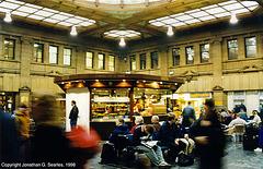 Edinburgh Waverley Station, Edinburgh, Scotland, UK, 1998