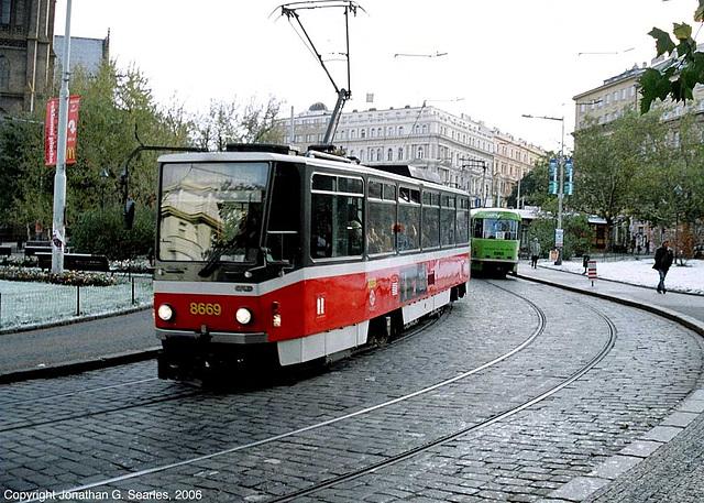 DPP #8669 Departing Namesti Miru, Prague, CZ, 2006