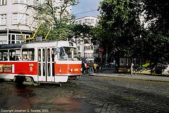 DPP #8098, Arriving At Namesti Miru, Prague, CZ, 2006