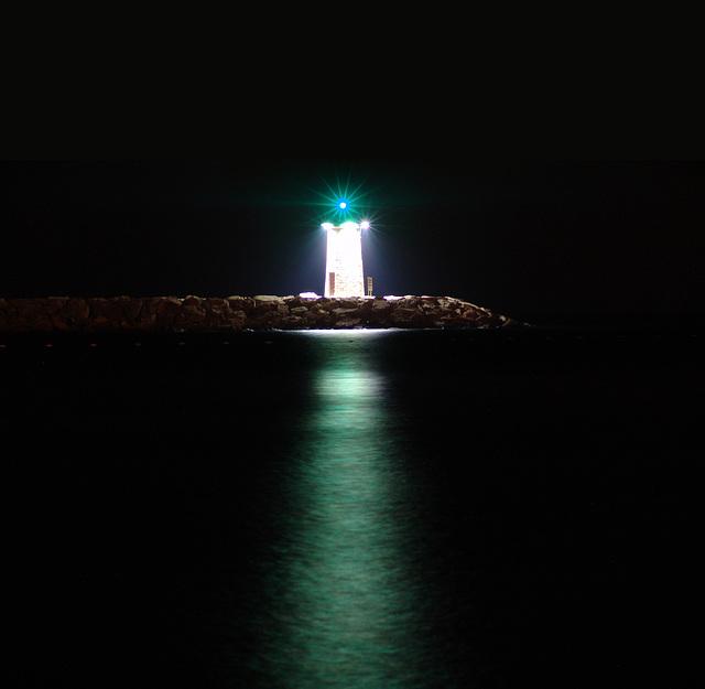 Le phare de Mandelieu