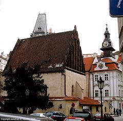 Staronova Synagoga, Josefov, Prague, CZ, 2005