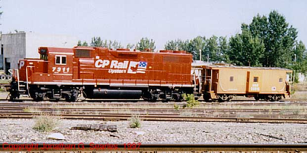 CP #7311 At Plattsburgh, NY, USA, 1997
