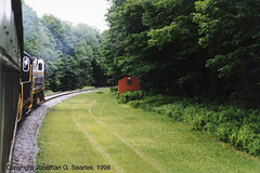1998 NRHS Convention Special On The ADCX, Picture 2, Nelson Lake, NY, USA, 1998