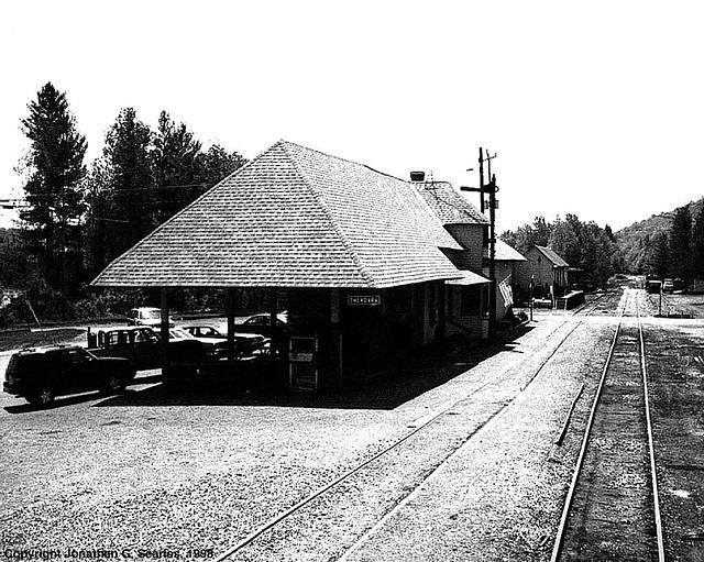 Thendara Station, Thendara, NY, USA, 1998