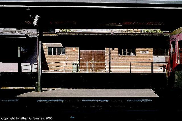Freight Loading Dock, Praha Masarykovo Nadrazi, Prague, CZ, 2006
