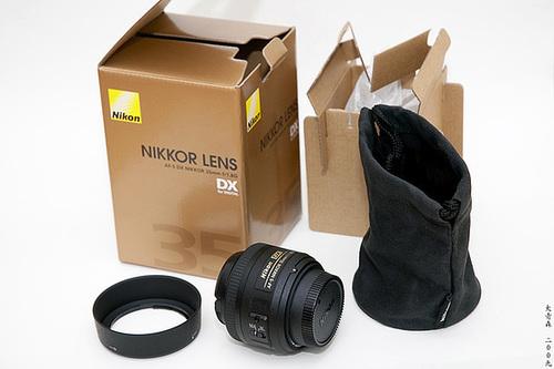 Unboxing: Nikon AF-S 35/1.8 DX