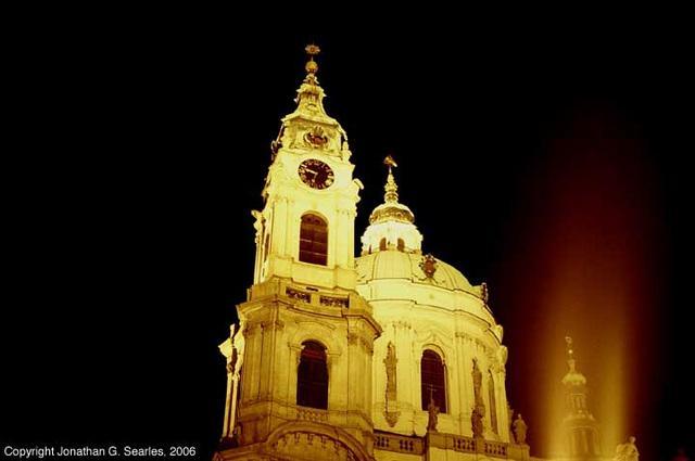 sv. Miklasky Chram (Church of St. Nicholas), Mala Strana, Prague, CZ, 2006