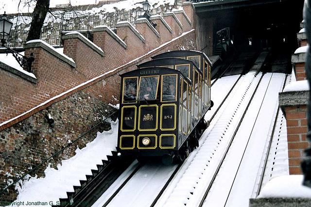 Budapest Funicular Railway, Budapest, Hungary, 2006