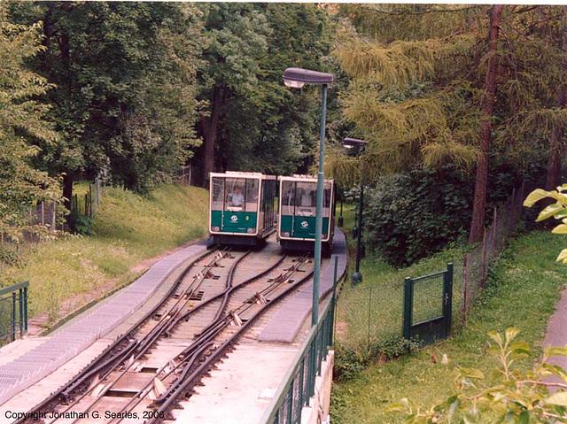 Lanova Draha (Funicular Railway), Prague, CZ, 2005