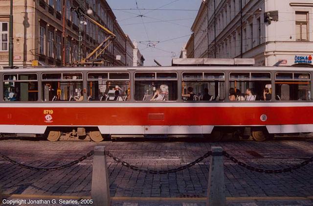 DPP #8719 on Ujezd, Prague, CZ, 2005
