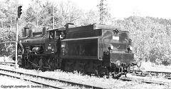 ex-CSD #434 2186 at Tynec, Picture 2, Tynec nad Sazavou, CZ, 2005