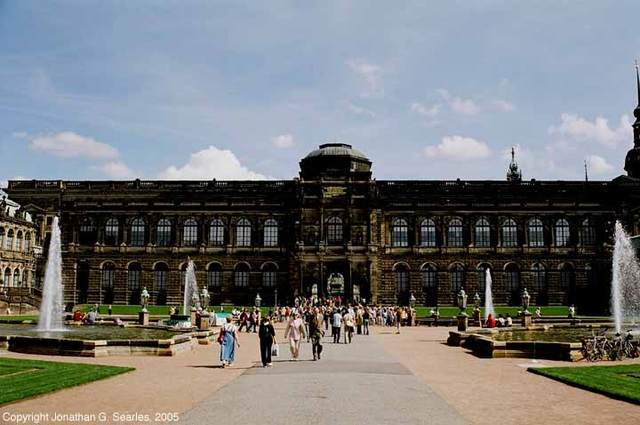 Zwinger Palace, Picture 4, Dresden, Sachsen (Saxony), Germany, 2005