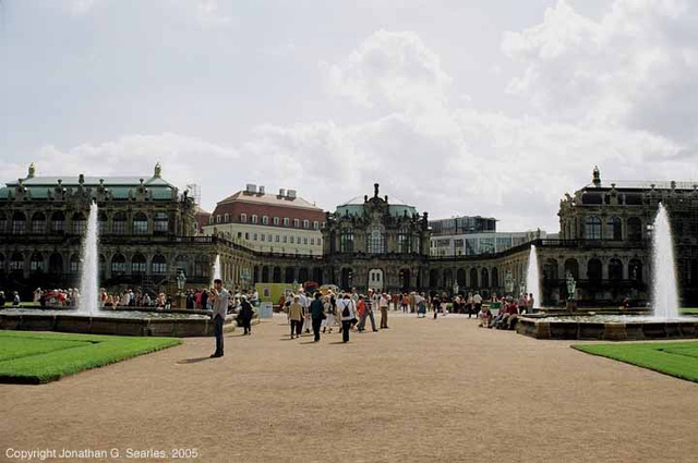 Zwinger Palace, Picture 3, Dresden, Sachsen (Saxony), Germany, 2005