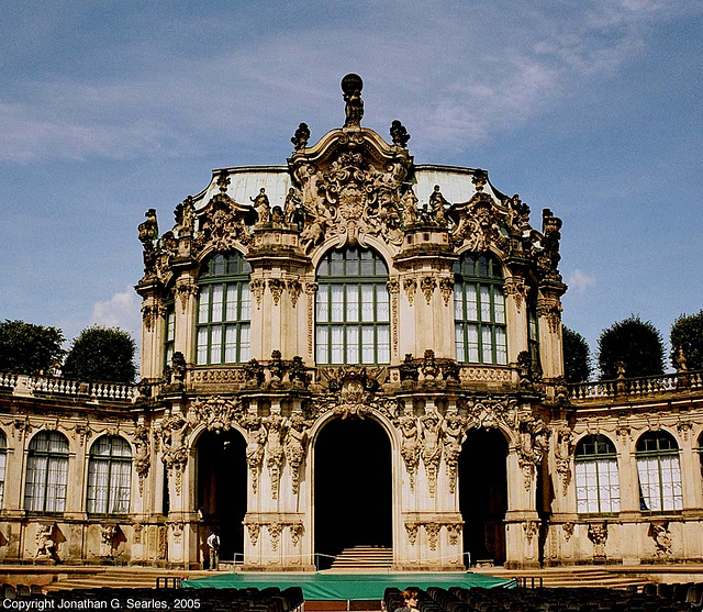 Zwinger Palace, Picture 2, Dresden, Sachsen (Saxony), Germany, 2005