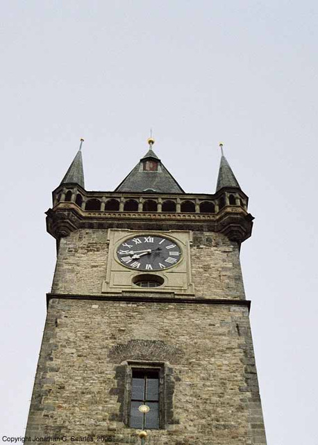Clock Tower, Stare Radnice, Prague, CZ, 2006