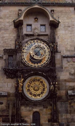 Prazky Orloj (Prague Astronomical Clock), Prague, CZ, 2006