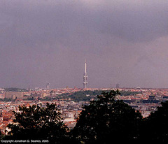 Zizkovska Televizni Vez (Prague TV Tower), Prague, CZ, 2005