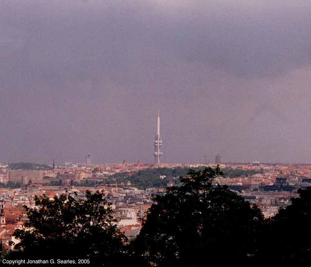 Zizkovska Televizni Vez (Prague TV Tower), Prague, CZ, 2005