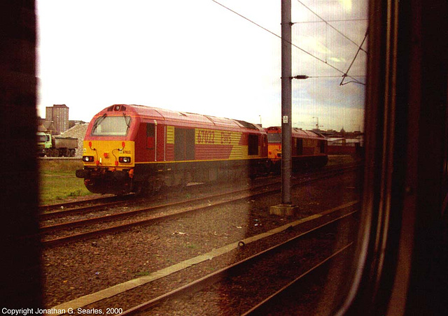 EWS Class 67 Diesel Locomotives, Norwich, Norfolk, UK, 2000