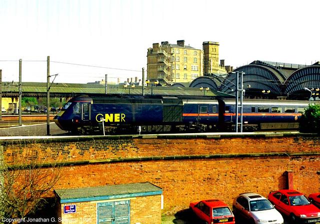 GNER Intercity125, York, North Yorkshire, UK, 1999