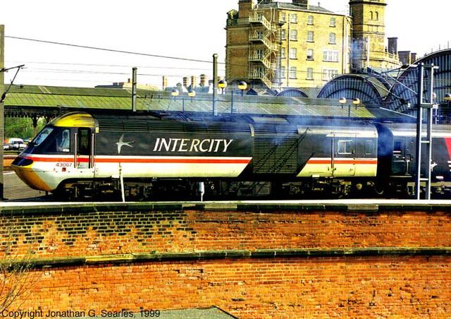 Intercity 125, York, North Yorkshire, UK, 1999