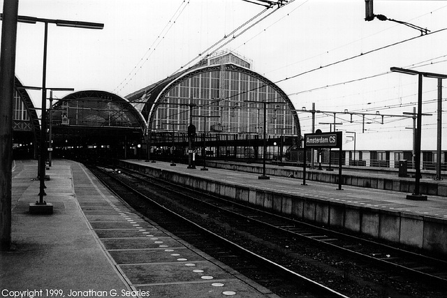 Amsterdam Centraal, Picture 1, Amsterdam, Holland (The Netherlands), 1998