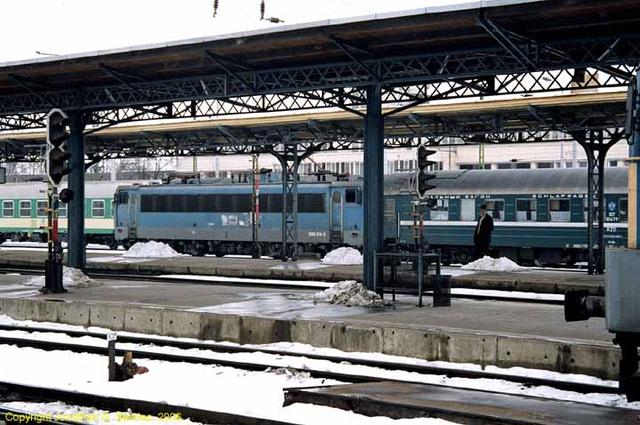 Russian Sleeper Train, Budapest Keleti, Budapest, Hungary, 2006