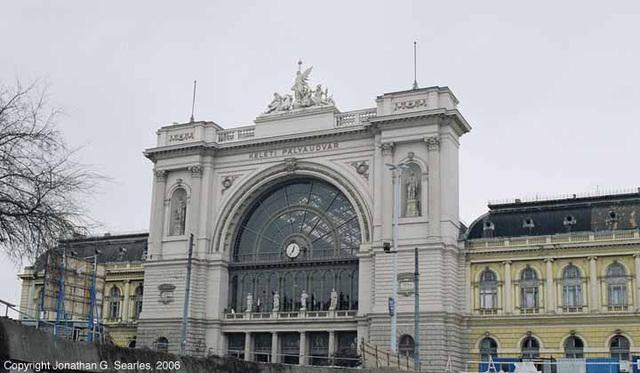 Budapest Keleti Station, Picture 2, Budapest, Hungary, 2006
