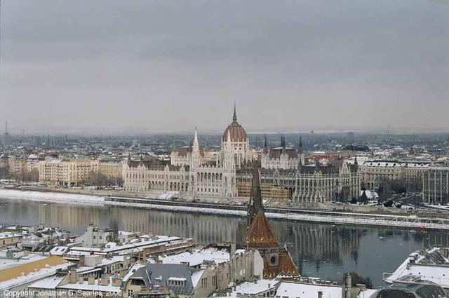 Hungarian Parliament, Budapest, Hungary, 2006