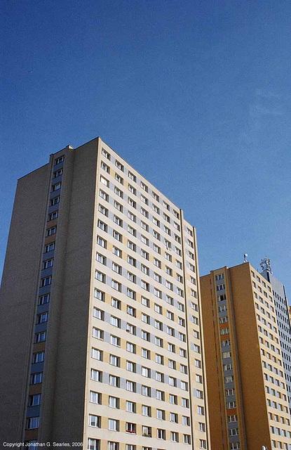 Panelaky (Panelak apt. blocks) Sidliste Haje, Prague, CZ, 2006