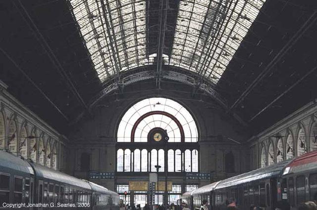 Budapest Keleti Station, Budapest, Hungary, 2006
