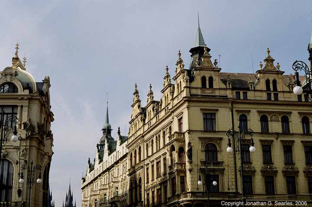 Buildings, Namesti Republiky, Prague, CZ, 2006