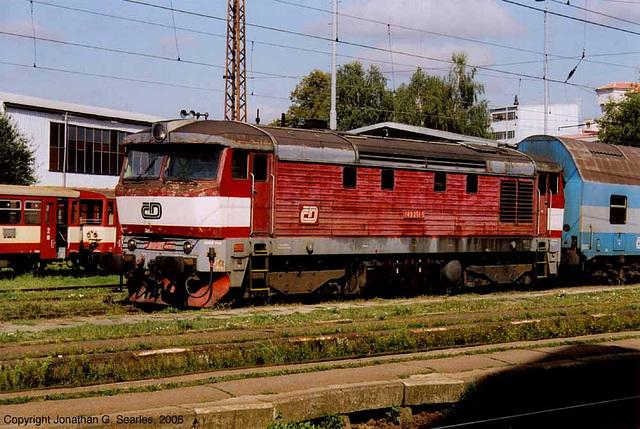 CD #749 251-5, Cercany, Bohemia(CZ), 2006