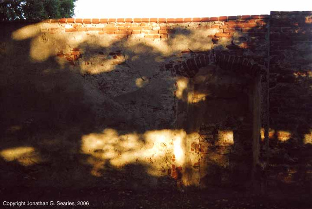 Shadows On Wall, Cesky Krumlov, South Bohemia(CZ), 2006