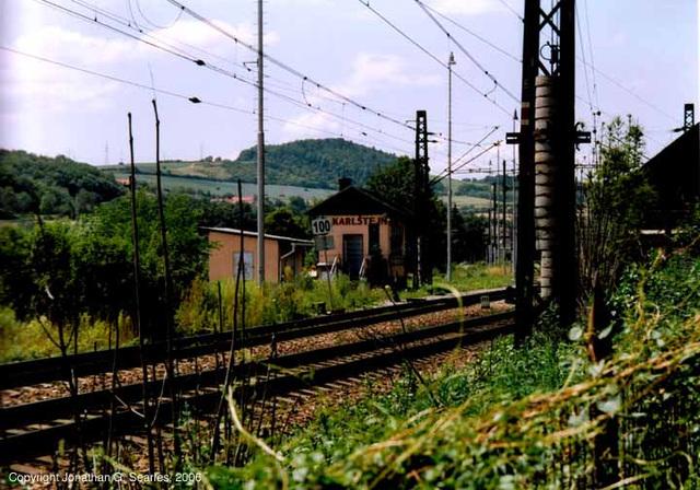 Karlstejn Signalbox, Central Bohemia(CZ), 2006