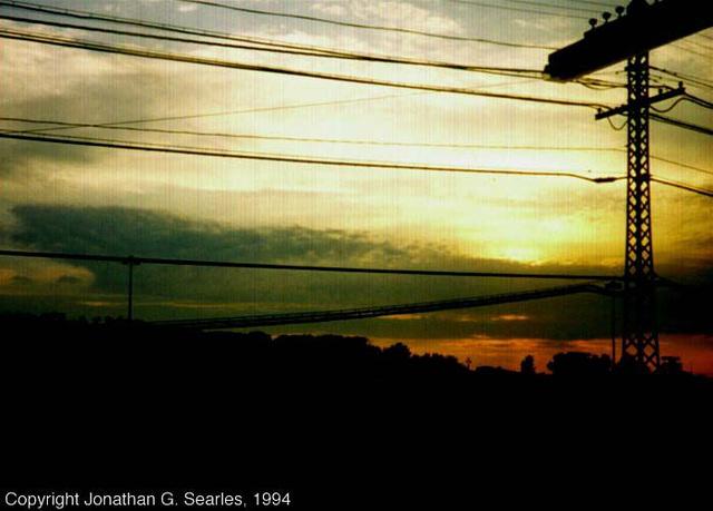 Sunset, Harmon, NY, USA, 1994