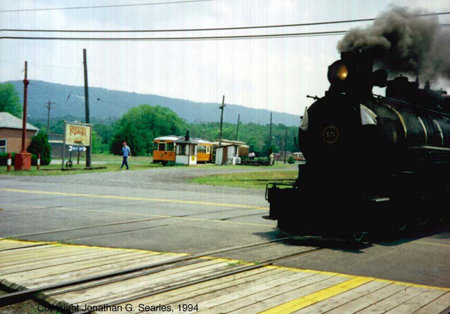 EBT #15, Picture 1, Orbisonia, PA, USA, 1994