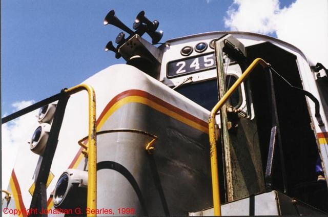 MA&N #2453 Cab, Thendara, NY, USA, 1998