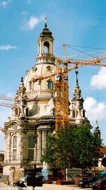 Frauenkirche, Dresden, Sachsen (Saxony), Germany, 2005