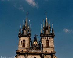 Tynsky Chram (Church Of Our Lady Before Tyn), Prague, CZ, 2005