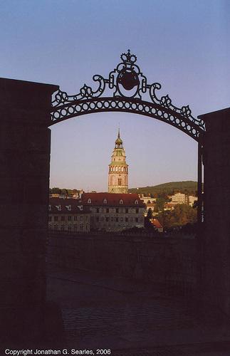 Gate On Krumlovsky Zamek, Cesky Krumlov, South Bohemia (CZ), 2006