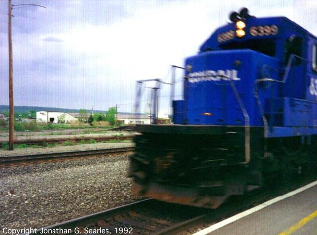 Conrail #6399, Utica, NY, USA, 1993