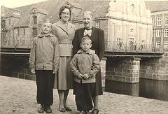 am Stintmarkt in Lüneburg 1956