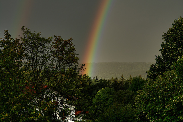 Rainbow over Icking Revisited